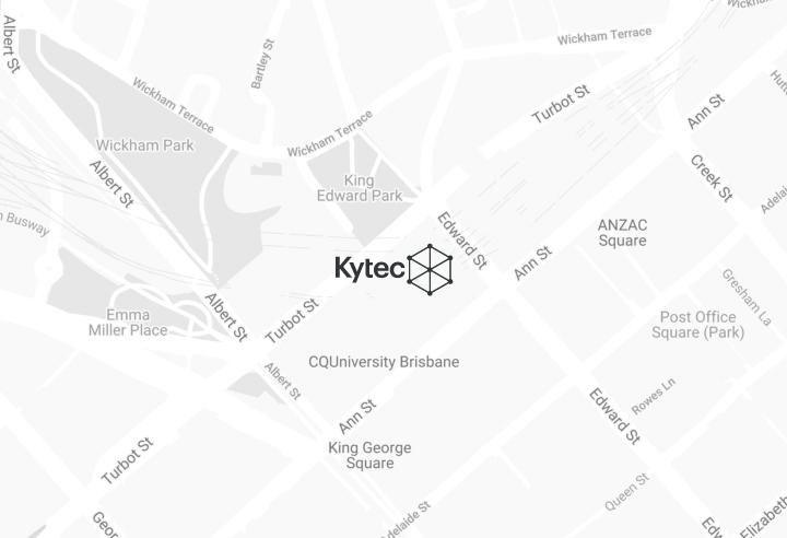 Kytec QLD map