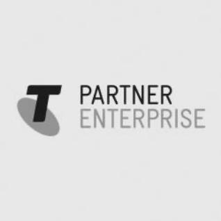 Telstra partner enterprise logo